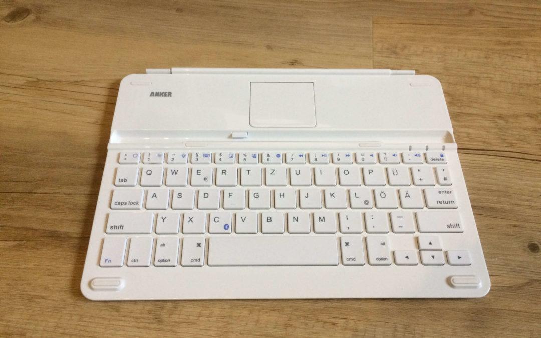 Anker iPad Air 2 Tastatur TC930 Testbericht