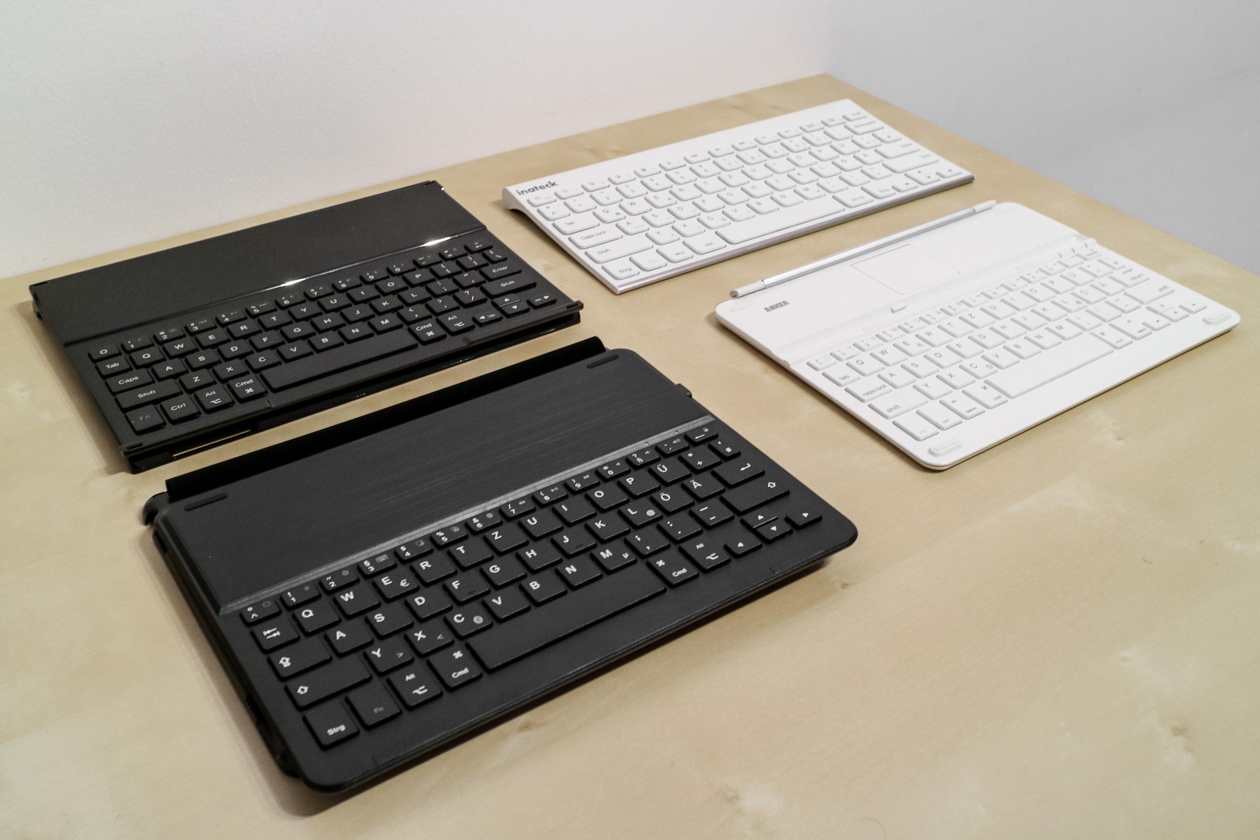 ipad tastatur beste tastaturen und h llen im test. Black Bedroom Furniture Sets. Home Design Ideas